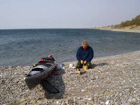 Kayaking Lake Baikal